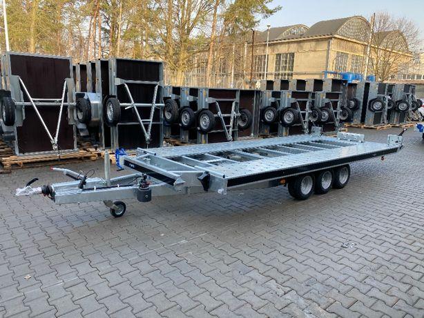 Laweta uchylna hydraulicznie trzyosiowa 480x206 KIPPBAR 480/3 DMC 3,5T