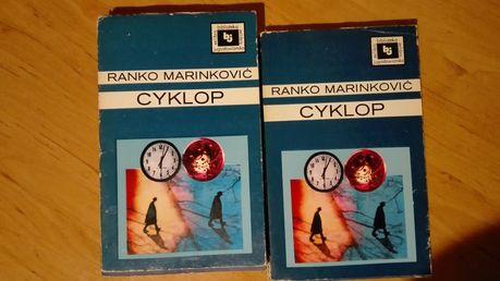 222 cyklop Ranko Marinkovic zestaw 2 tomy