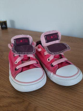 Buty, trampki Converse dla dziewczynki, różowe,  roz. 24