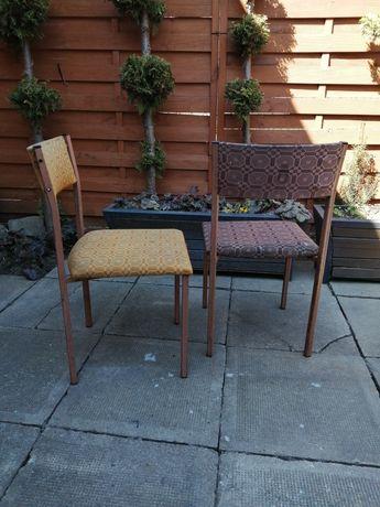 Krzesła matalowe
