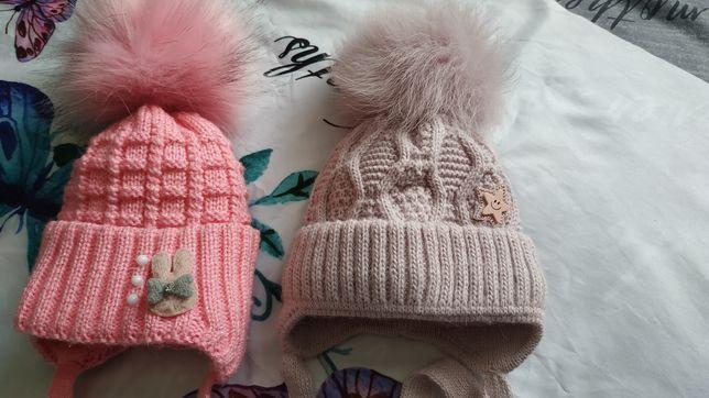 Зимние шапочки для девочки