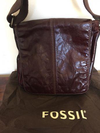 Oryginalna torebka ,listonoszka Fossil+worek przeciwkurzowy