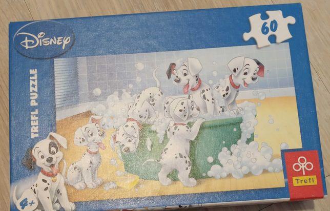 Sprzedam puzzle dalmatyńczyki 60 sztuk