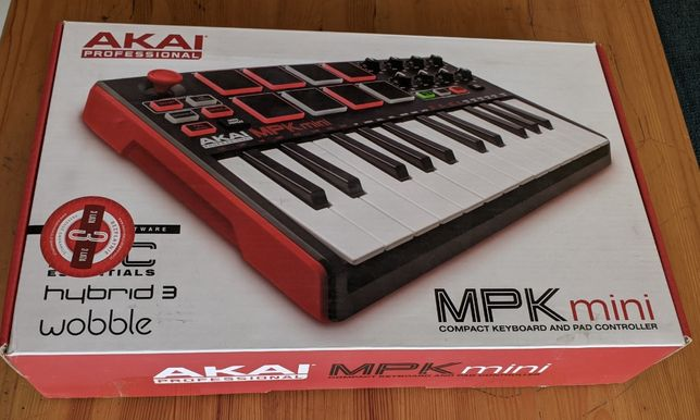 Kontroler Midi Akai MPK Mini MK2 - zarezerwowany do 1.03