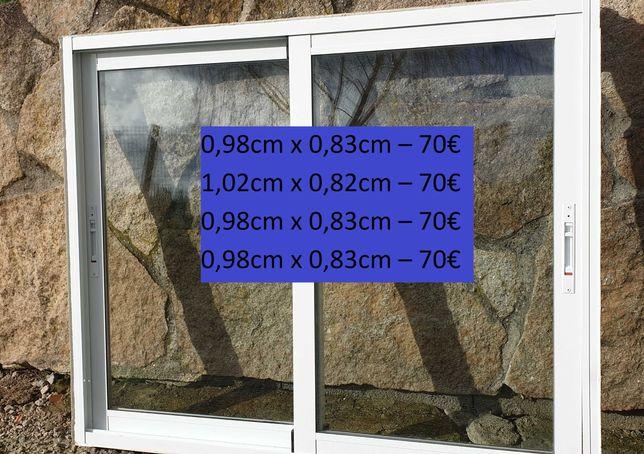 Janelas Alumínio com Vidro Duplo