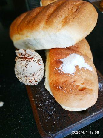 Хлеб домашний. Очень вкусный.