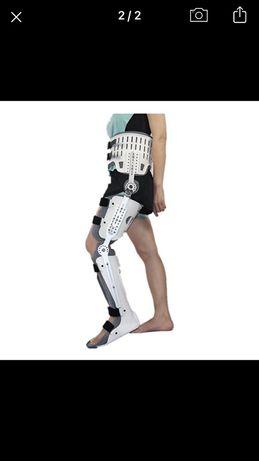 Ходунки інвалідні, тазостегновий суглоб шарнірний, колінний бандаж
