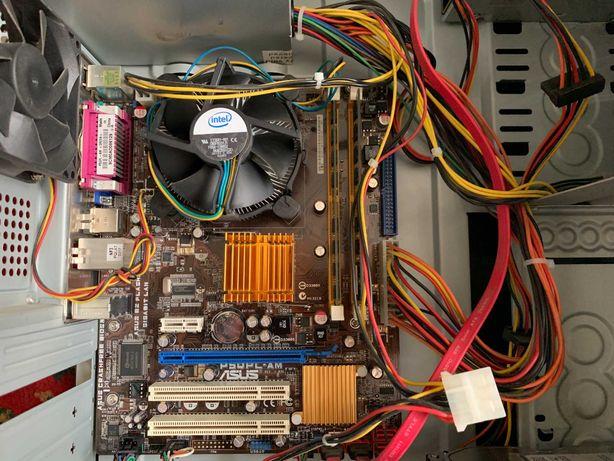 Asus P5QPL-AM 775 + Intel Pentium Dual-Core E5400 2.7GHz + RAM 6Gb