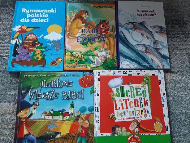 Komplet Wiersze wierszyki rymowanki dla dzieci bajki