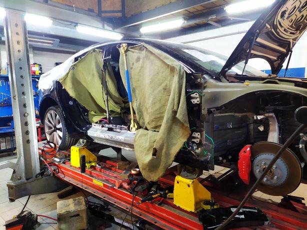 Tesla Model S 3 X Кузовной ремонт рихтовка покраска автомобилей