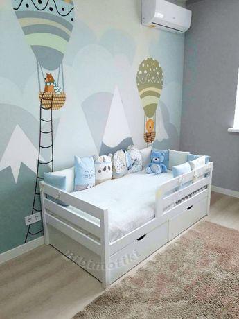 Акция! Детская кровать, кровать для мальчика, кровать для девочки