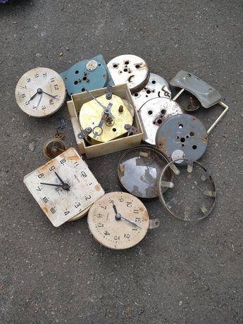 Детали запчасти советских часов