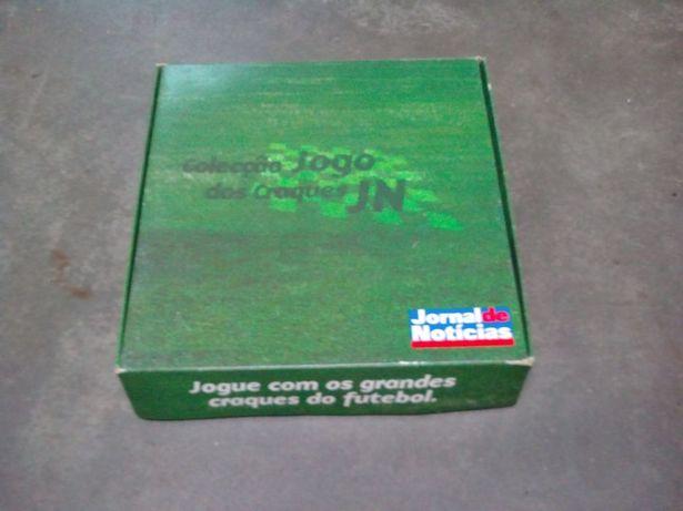 Coleção jogo dos craques - jn - raro jogo