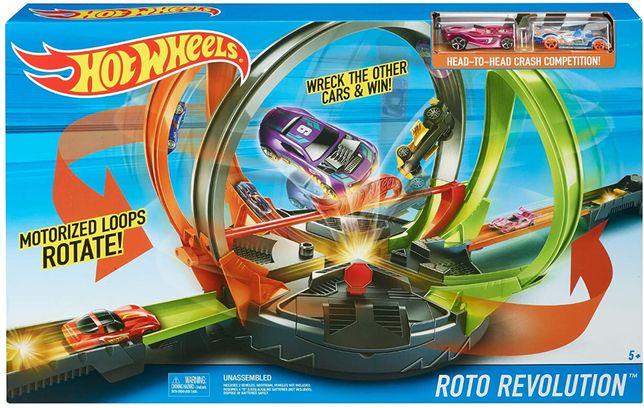 трек Hot Wheels Roto Revolution новый