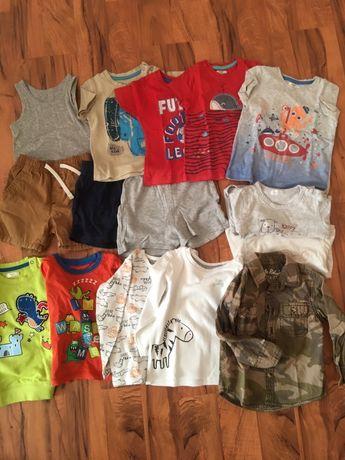Paka dla chłopaka, zestaw ubrań 86, 92, wiosna, 21 sztuk