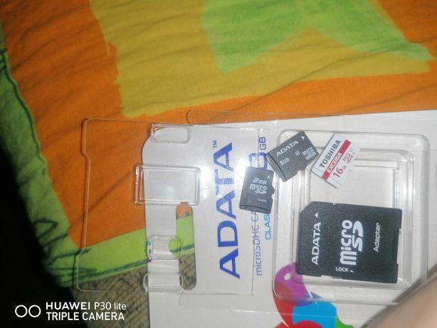 Karty micro SD z adapterem