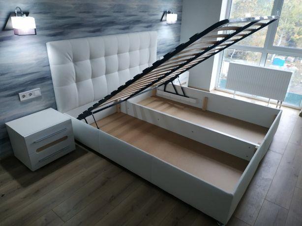 Кровать Лугано 140/160*200 на ламелях с подъемным механизмом(газлифт