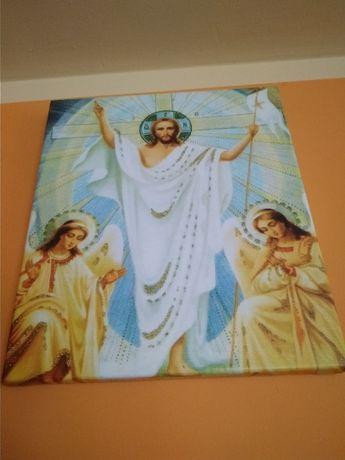 Obraz Zmartwychwstały Jezus Chrześcijaństwo