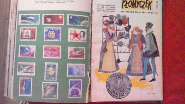 PRL archiwalne wydanie Płomyczka Płomyczek 1961 i 1962