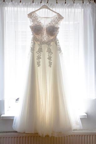 suknia ślubna boho rustic
