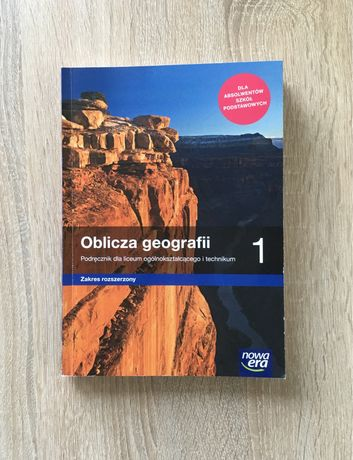 Podręcznik Oblicza Geografii 1 zakres rozszerzony Nowa Era liceum