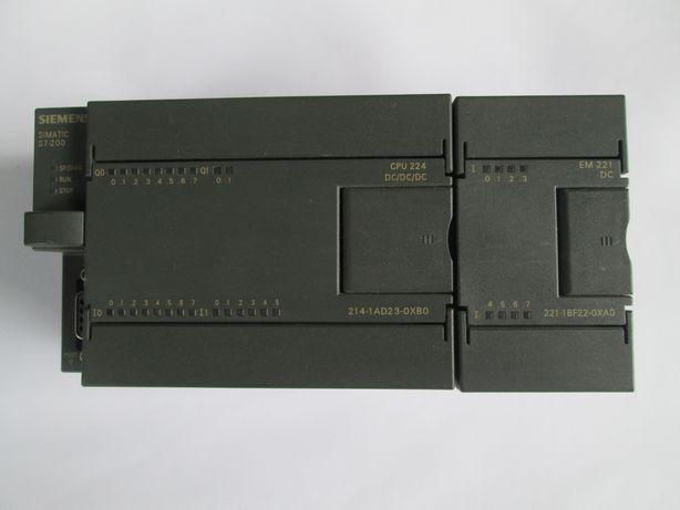 Контролер Siemens CPU 224DC 214-1AD23-OXBO