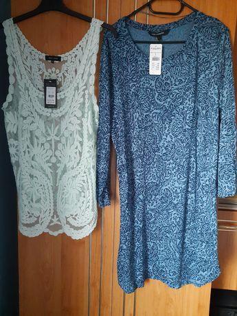 Sukienka i bluzka rozmiar L