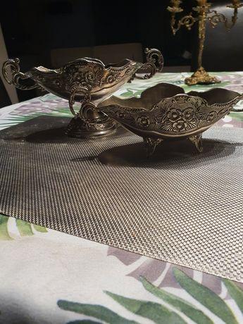 Patery posrebrzany komplet