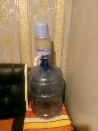 Бутыль19литров,для бутилированной воды,помпа