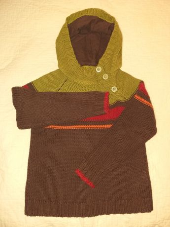 Sweterek Zara skhuaban roz. 98-110 cm