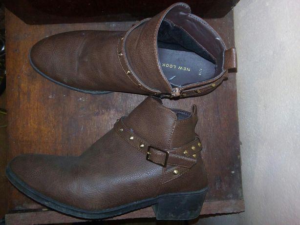 Ботинки сапоги New look