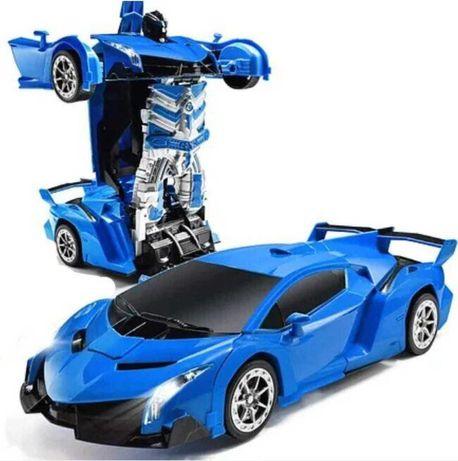 Машинка Робот трансформер на радиоуправлении Lamborghini Robot