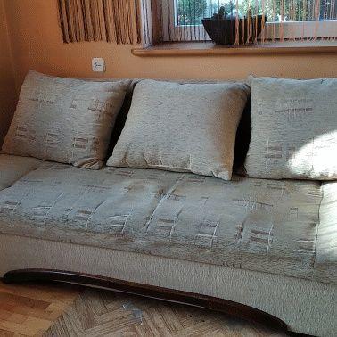 Sofa rozkładana + dwa fotele