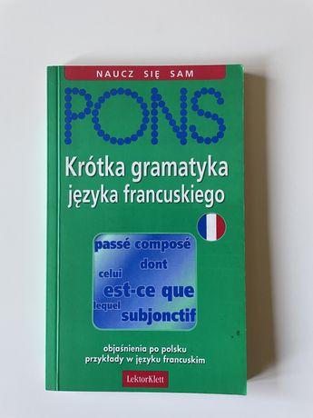 PONS krótka gramatyka języka francuskiego