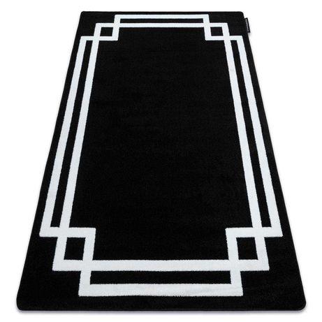 Dywan czarno biały 120x170 eksklusive glamour grubszy