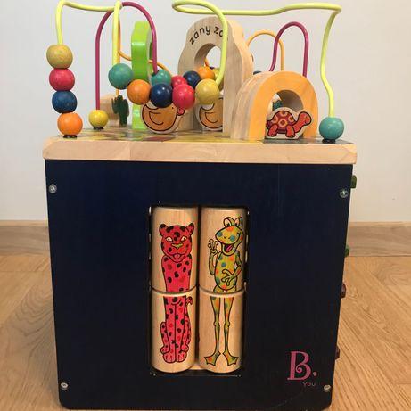 B Toys Zany Zoo kostka edukacyjna, dla roczniaka