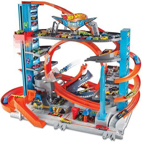 Hot Wheels  Ultimate Garage Легендарный Гараж кран эвакуатор