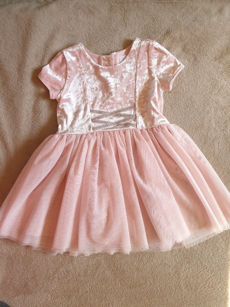 Sukienka księżniczka na bal dla dziewczynki -4 lata
