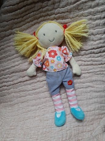 Miękka szmaciana lalka