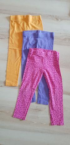 Getry leginsy spodnie 98 / 104 cm 2 - 4 lata
