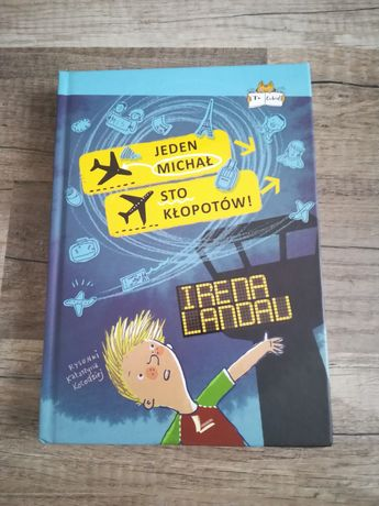 Jeden Michał Sto Problemów - Irena Landau [Książka]
