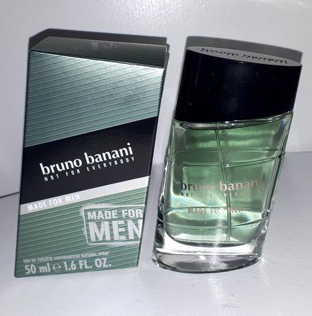 Perfum męski BRUNO BANANI Made for Men 50 ml woda toaletowa edt nowe
