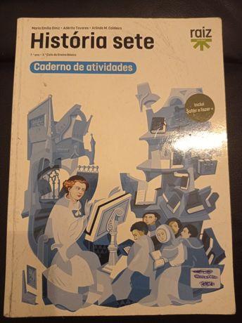 Manual 7° Ano - Caderno de Actividades - História sete