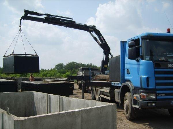 Zbiornik betonowy,szamba,Szambo betonowe,zbiorniki na deszczówkę