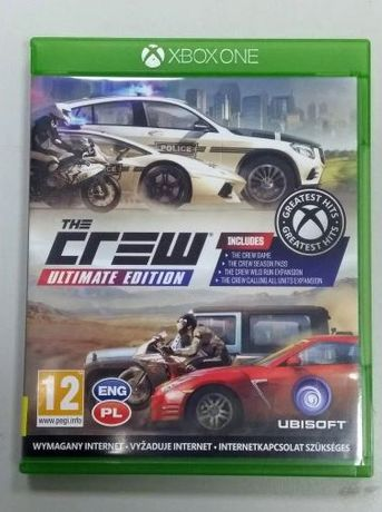 Gra Xbox One The Crew Ultimate Edition LOMBARD66