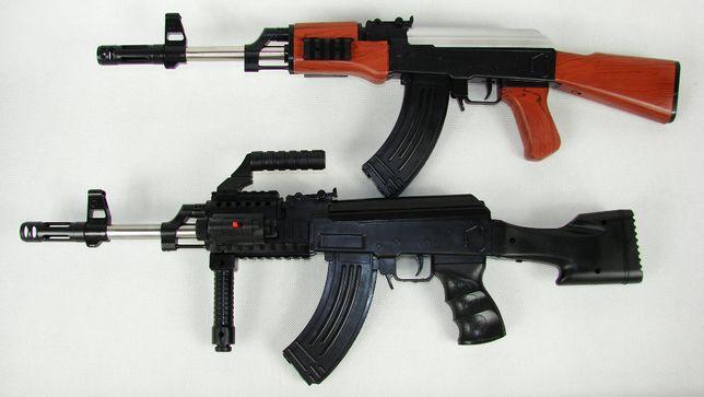 KAŁASZNIKOW AK47 Karabin Kulki Pistolet ASG 2szt