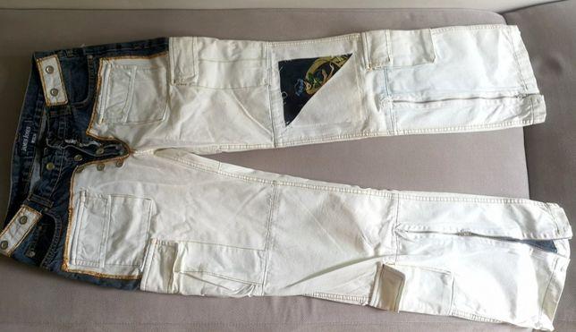 Unikatowe Jeansy renomowanej marki James Jones 33/34 - OKAZJA!
