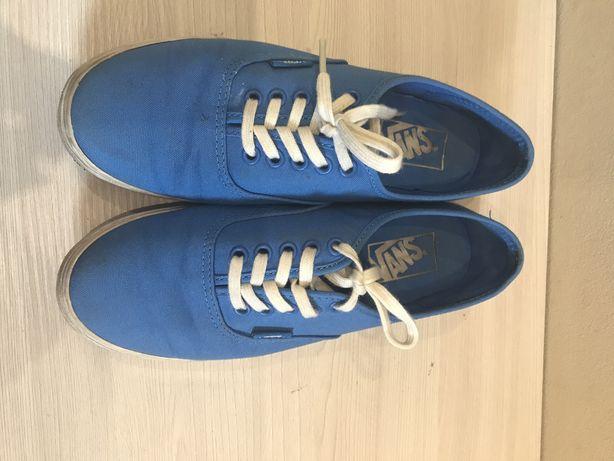 Vansy niebieskie