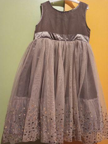 Платье нарядное красивое сарафан р.128