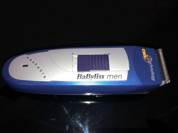 Maquina de cortar cabelo Babyliss Men com bateria recarregável